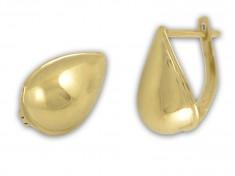 Изчистени златни обеци Капки