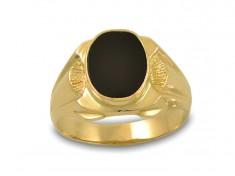 Мъжки пръстен с оникс