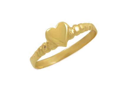 Златен пръстен с бели и черни камъни