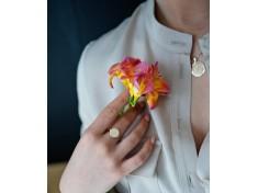 Авторски пръстен с шевица Елбетица