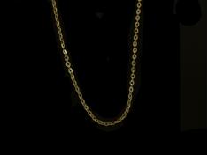 Златен синджир с отблясъци
